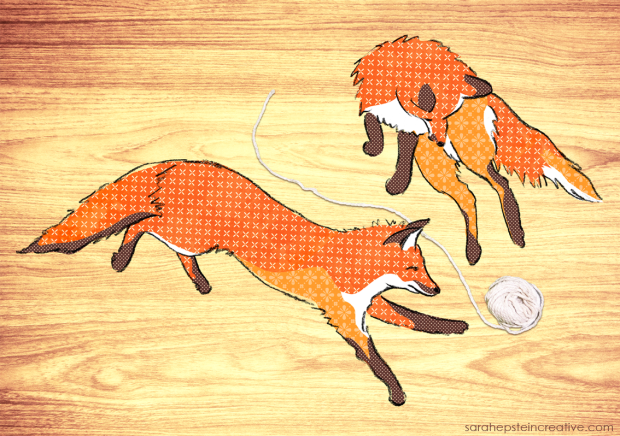 ©Sarah Epstein - Playful Foxes